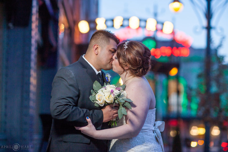 Romantic Hotel Wedding in Downtown Denver Oxford Hotel