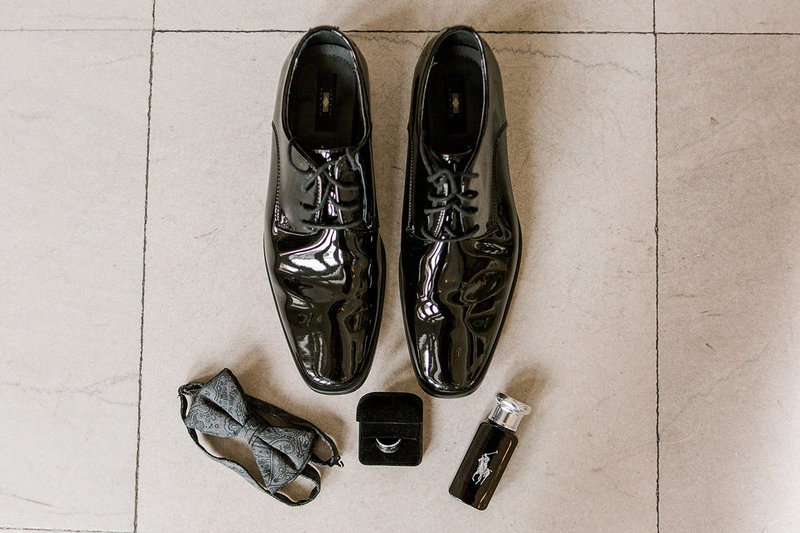 Wedding-Inspiration-Groom-Shoes-Bowtie-Photo-by-Uniquely-His-Photography01
