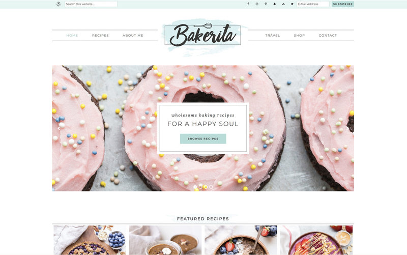 Handcrafting Heartfelt Brand & Website Designs for Female Creatives |  Showit | Showit Templates | by Viva la Violet | Bakerita