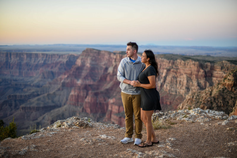 7.8.19 MR Engagement Photos at Grand Canyon Mindy and Braxton-10