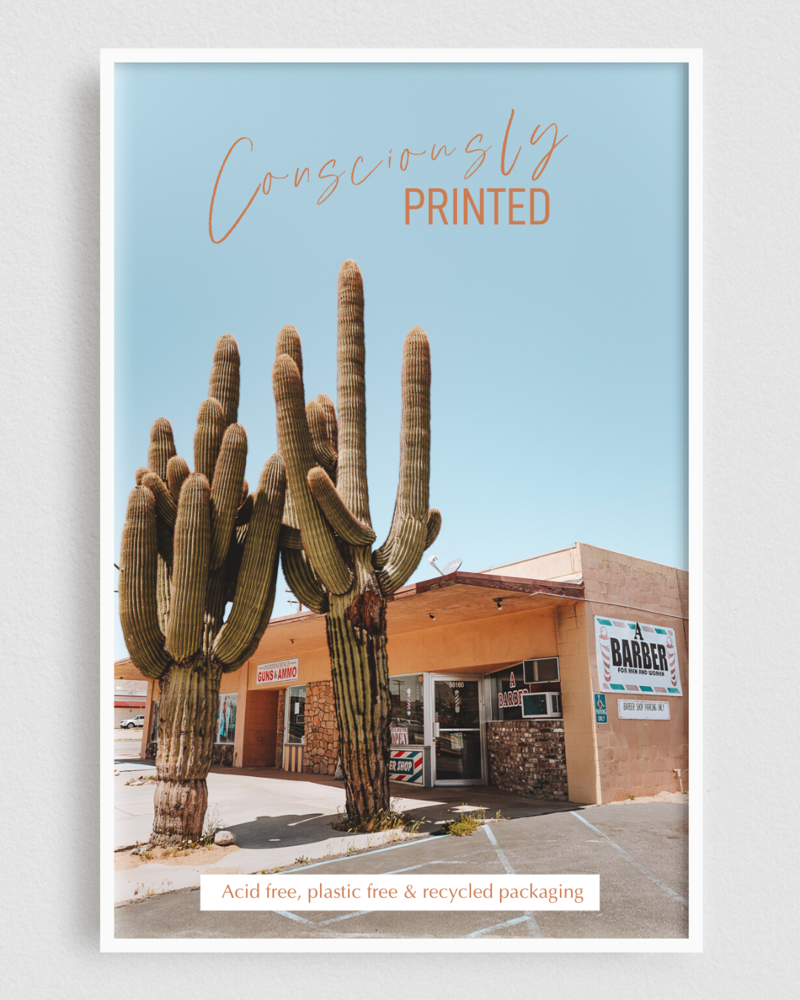 Salty Luxe Consiously Printed Art