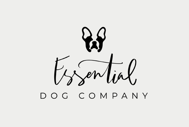 Logo for essential dog company by Just Like White Creative