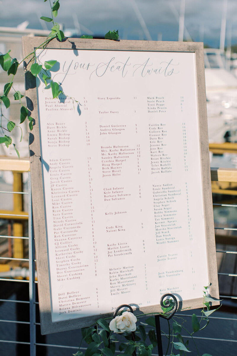 pirouettepaper.com | Wedding Stationery, Signage and Invitations | Pirouette Paper Company | Seating Charts 12