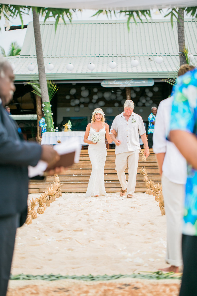 Fiji Featured Wedding-