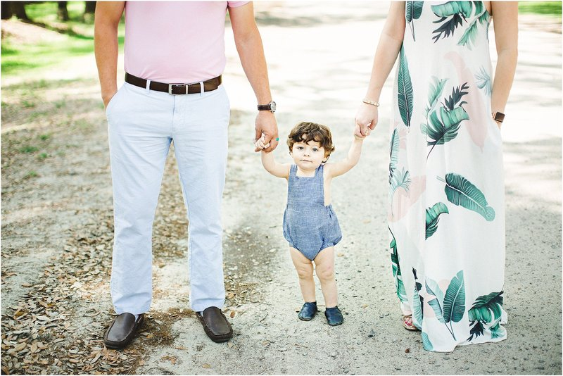 summer tropical family portraits