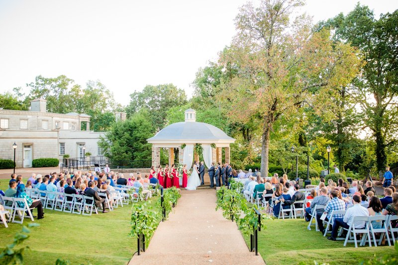 The Gazebo is the most popular ceremony location
