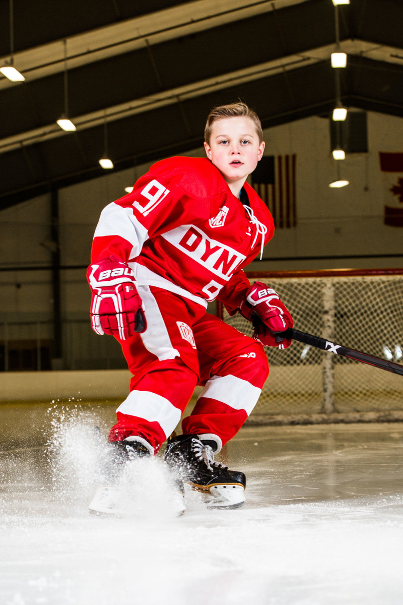 New England sports team photographer based in Burlington VT | Hall-Potvin Photography