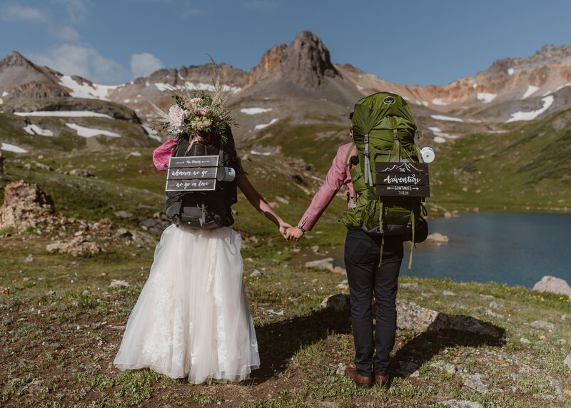 Ice Lake Elopement | Colorado Elopement Videography