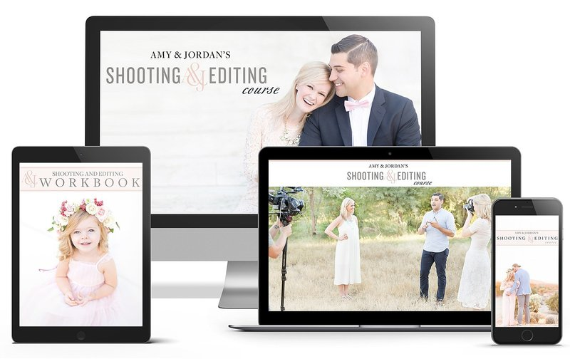 Amy & Jordan's online photography course | Shooting & Editing Course