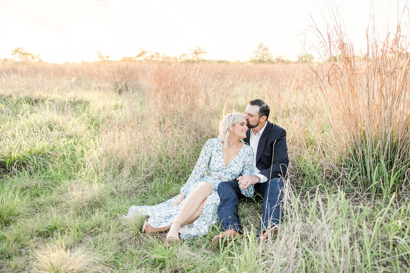 cibolo nature center engagement photos in boerne texas