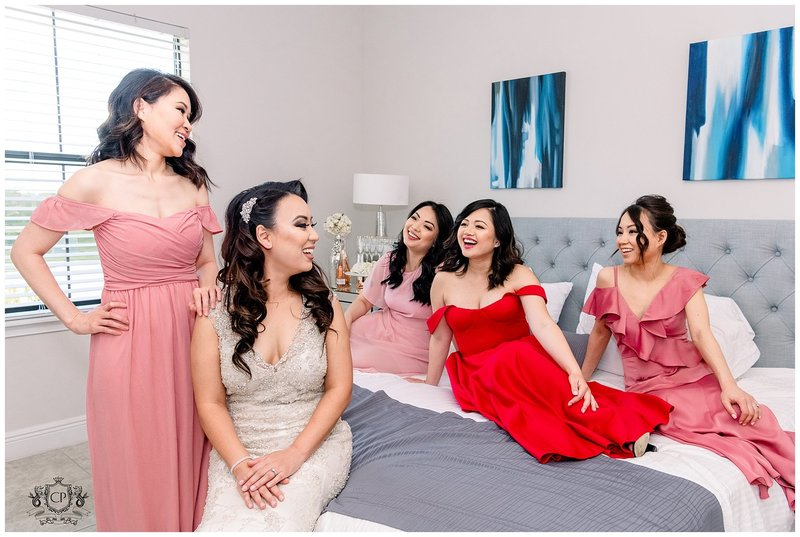 Bride and Bridesmaids | Orlando Wedding Photographer