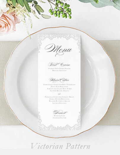 victorian-pattern-wedding-menu