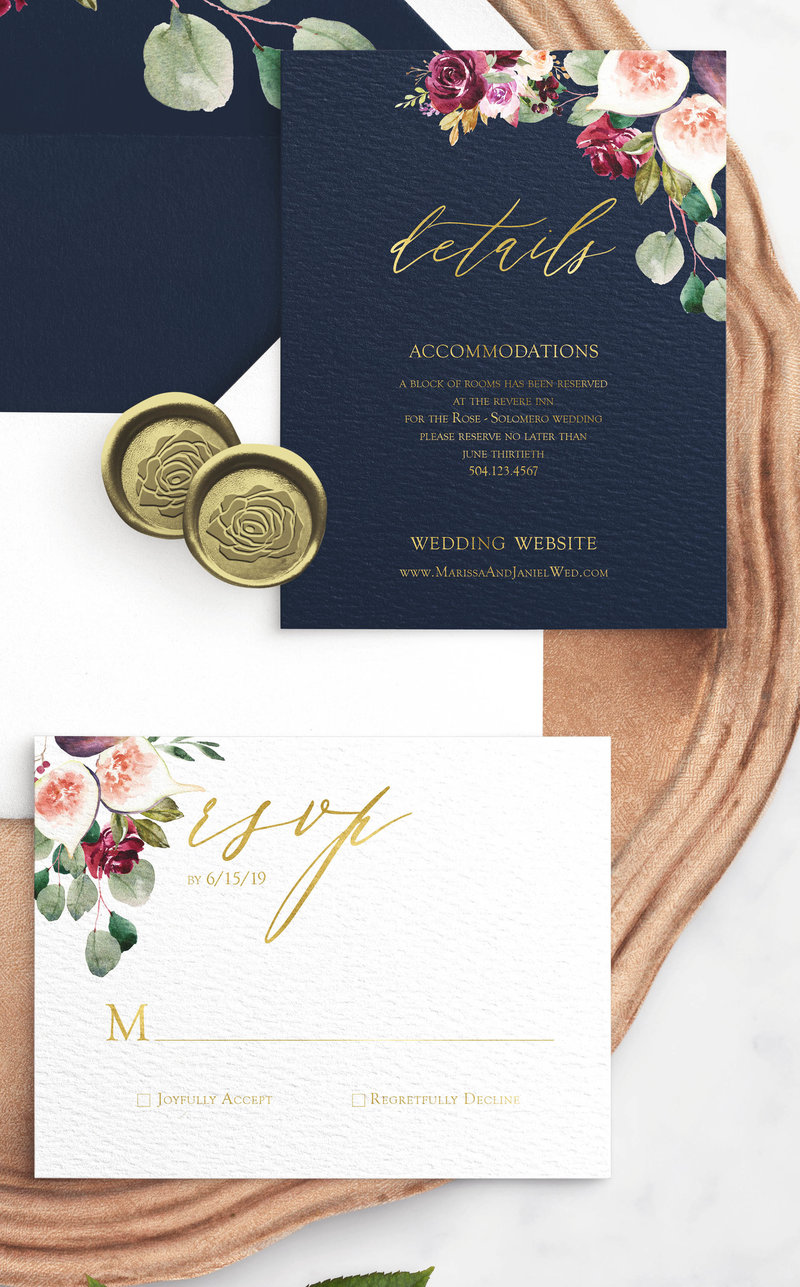floral_fruit_wedding_cards