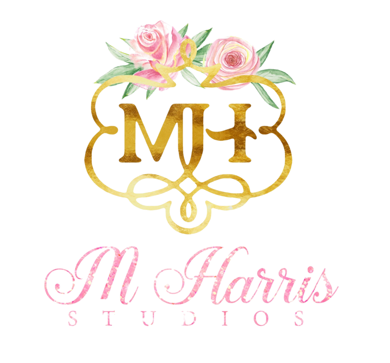 M. Harris Logo - Full with Transparent Background