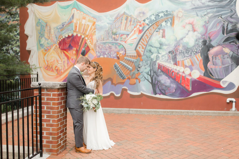 Riverside Park wedding photos in Red Bank NJ