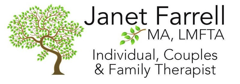 Janet Farrell Logo for shipping labels