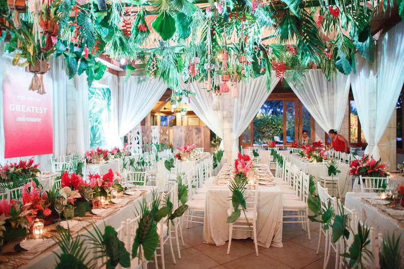 Tropical destination wedding in Fiji at Koro Sun Resort