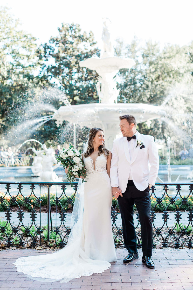 Jessica and Phillip's Perry Lane Hotel Savannah Wedding