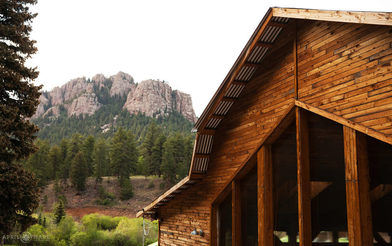 Elegant New Barn for Wedding Receptions at Mountain View Ranch in Pine Colorado