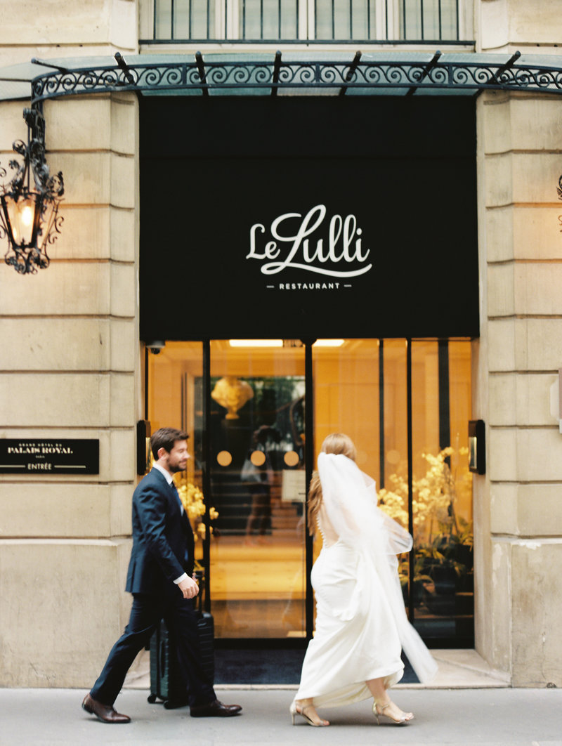 Le Lulli Hotel Paris Wedding