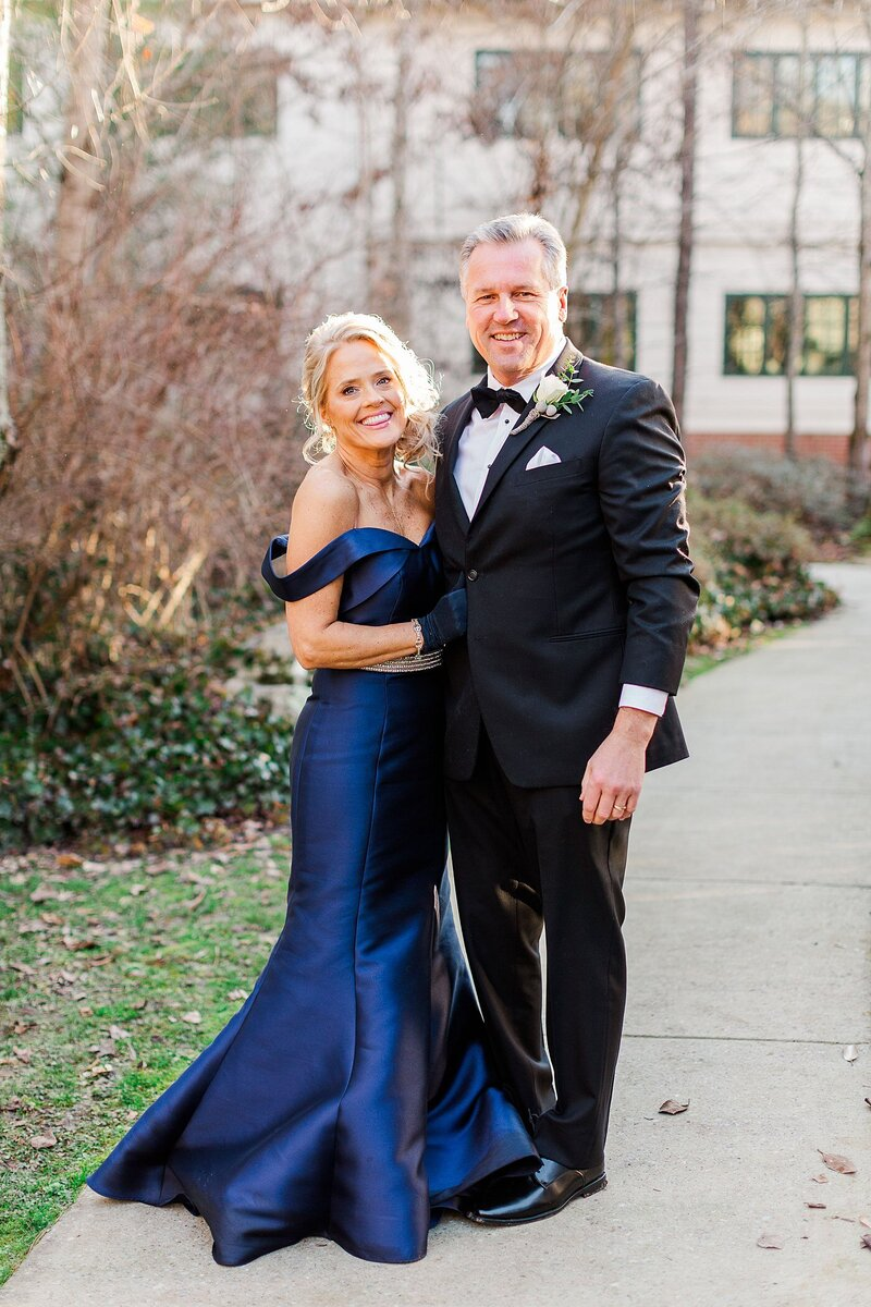 parents of the bride by Knoxville Wedding Photographer, Amanda May Photos