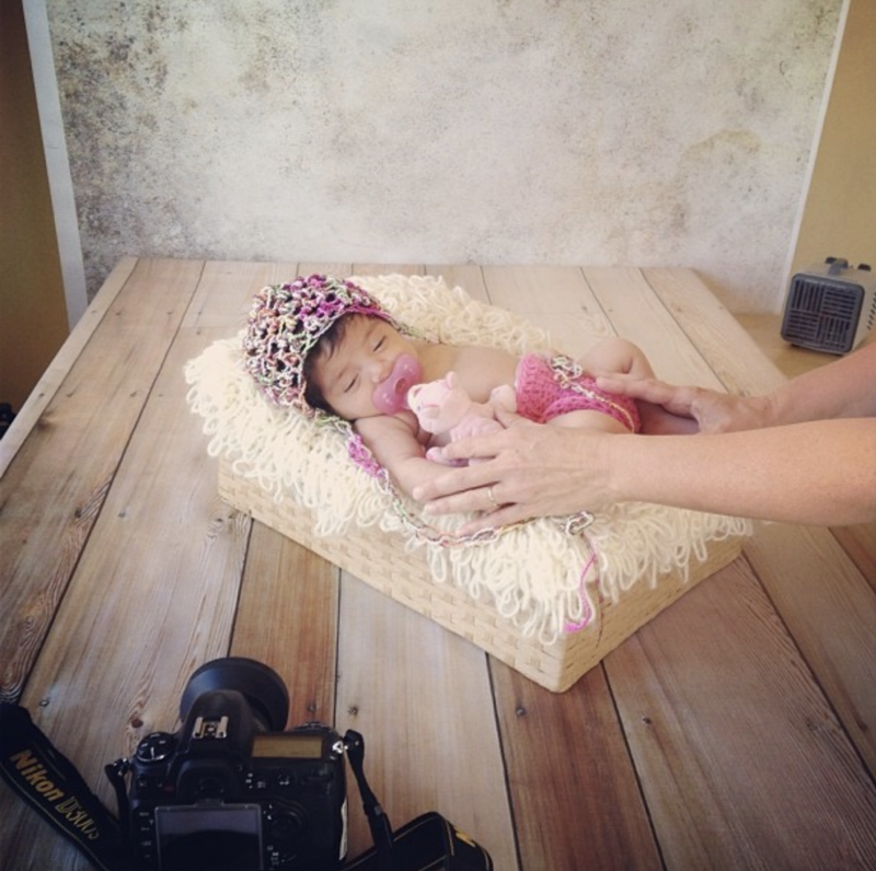 BTS Newborn Baby Girl Session