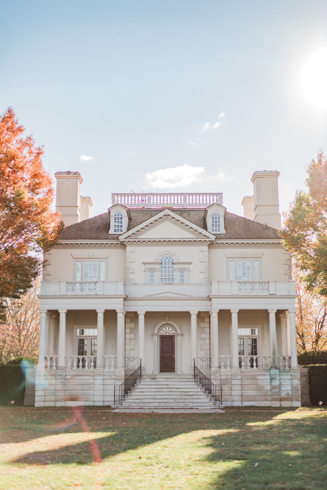 estate house at great marsh estate wedding in northern virginia by costola photography