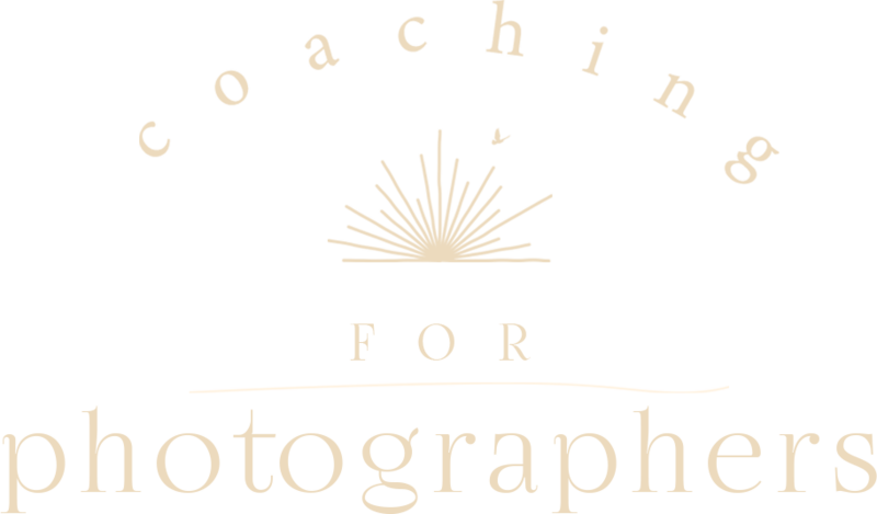 coaching for photographers
