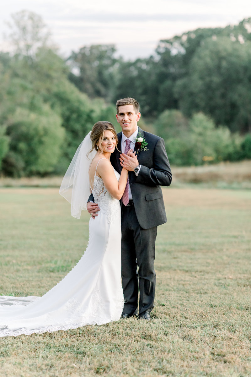 Virginia Wedding Photographer, couple standing holding hands