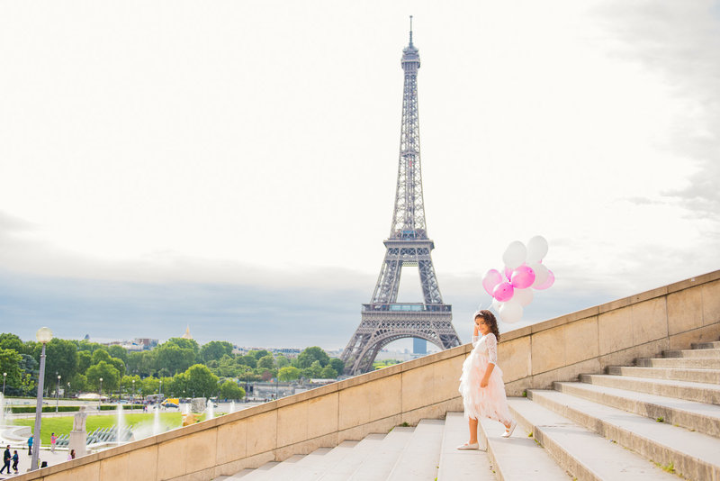 Capture your family vacation in Paris with Paris photographer Shantha.