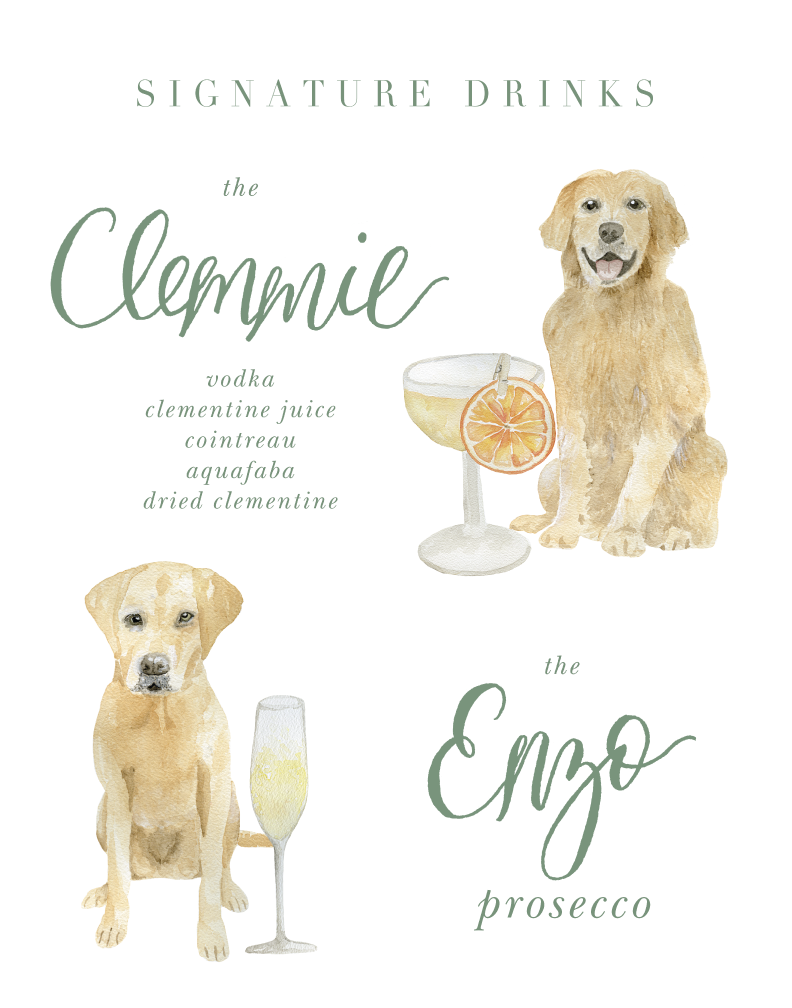 Pet-Portrait-Signature-Drinks-Sign-The-Welcoming-District