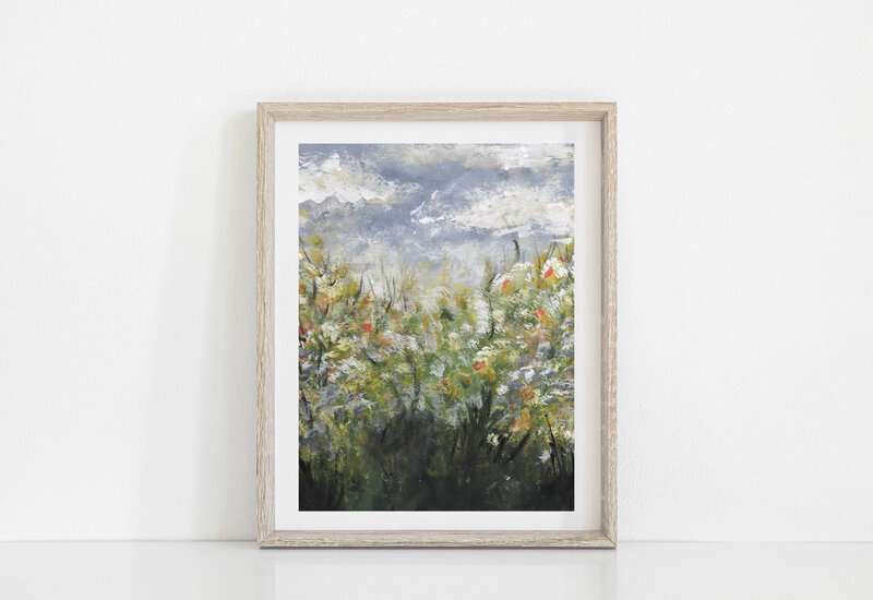 wildflowersartprint