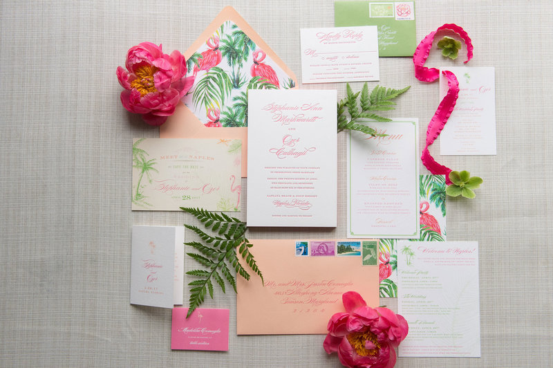 mlc-designs-baltimore-maryland-wedding-invitations-tropical