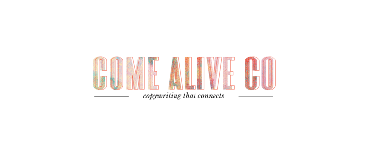 Come Alive  Large Logo