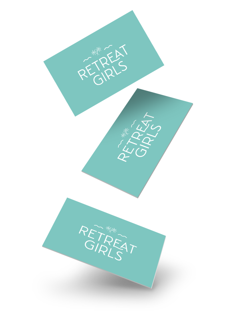 Retreat Girls Business Card MU