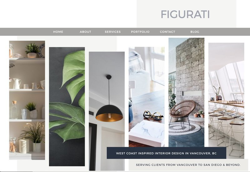 figurati showit website template