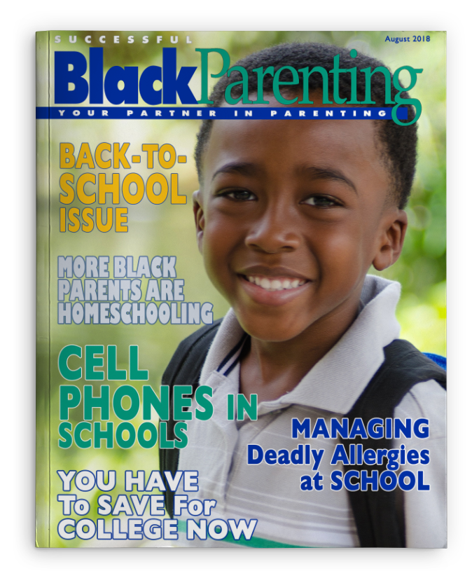 Successful Black Parenting - August 2018 Magazine Cover