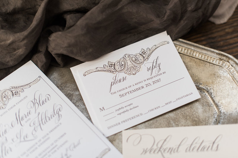Aldridge Elegant Wedding Invitation