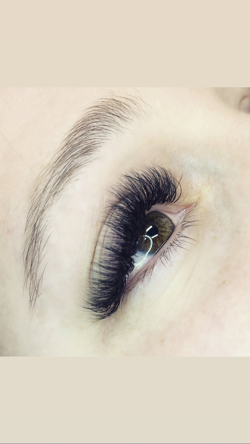 fluffy volume lashes