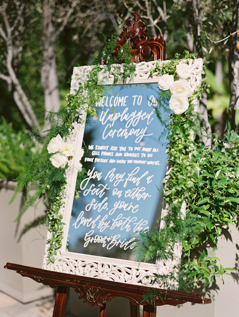 pirouettepaper.com | Wedding Stationery, Signage and Invitations | Pirouette Paper Company | Welcome + Unplugged Signs 33