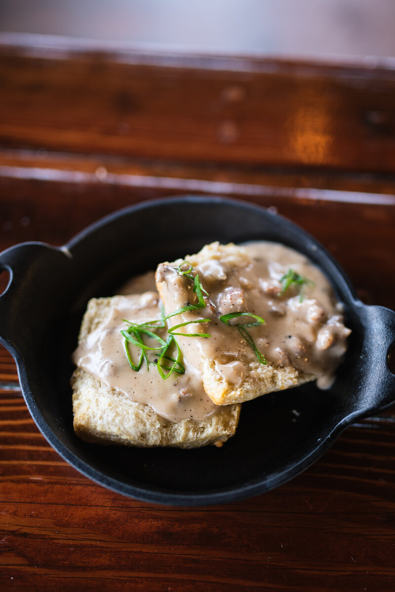 Bolyard's Biscuits and Gravy