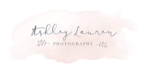 Indianapolis family photographer Ashley Lauren's logo
