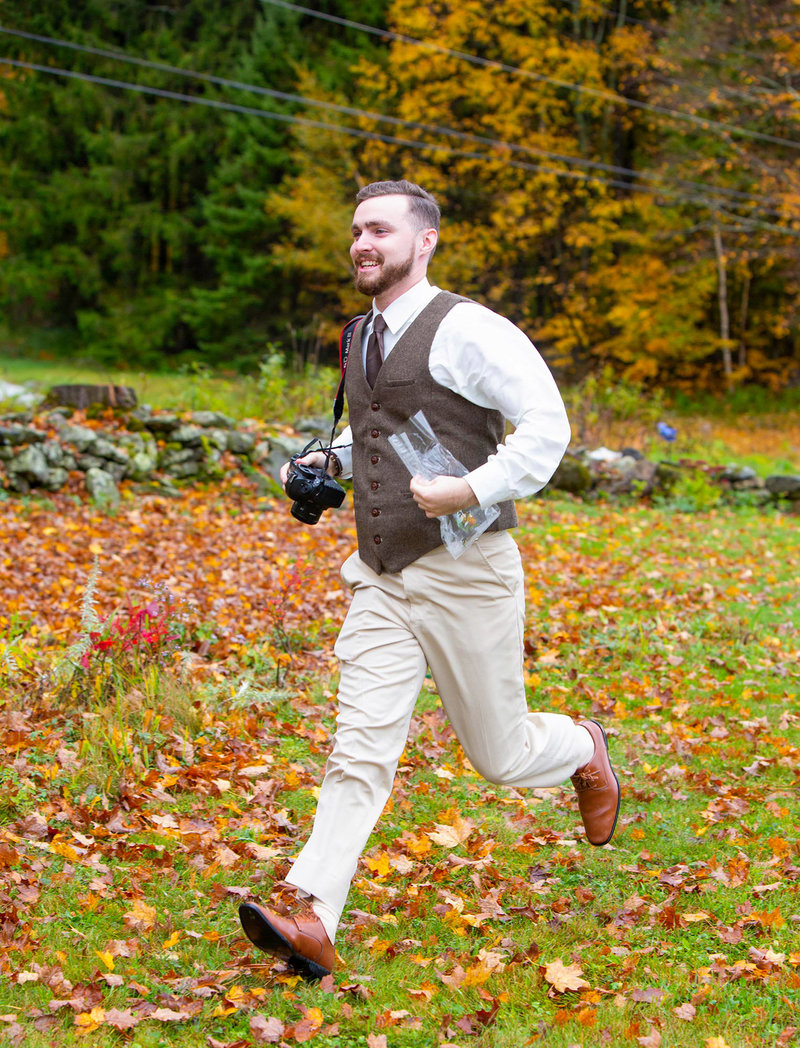Logan Hall-Potvin, New England Wedding & Elopement Photographer based in Burlington, VT.