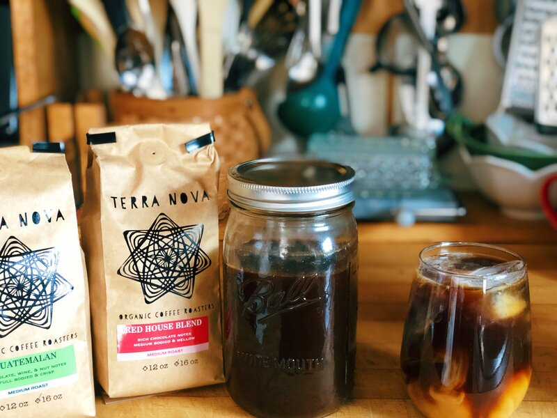 Terra Nova Coffee Iced