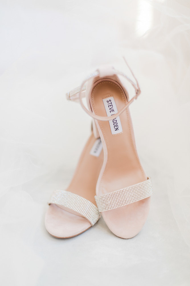 steve madden wedding shoes at great marsh estate wedding in northern virginia by costola photography