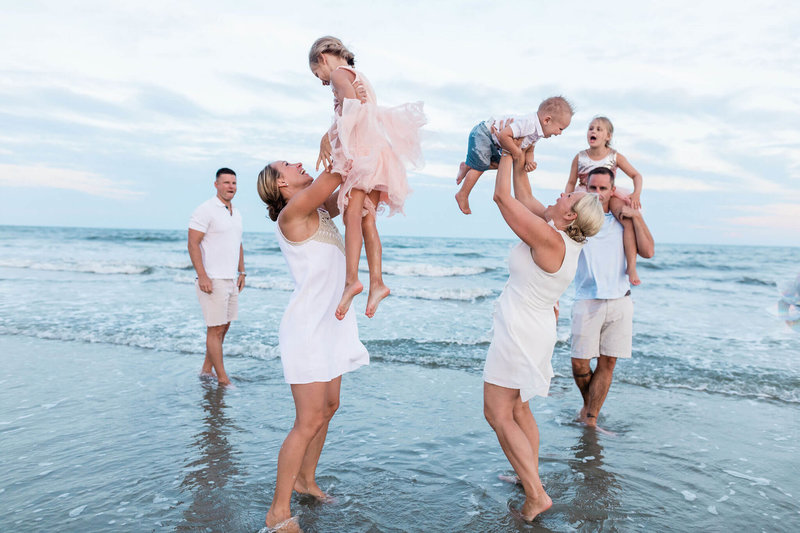 Clark Family - Hilton Head Family Session by Apt. B Photography