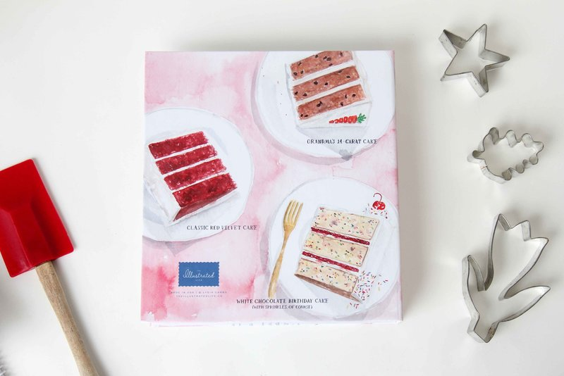 recipe binder layer cake magazine cover the illustrated life back low res