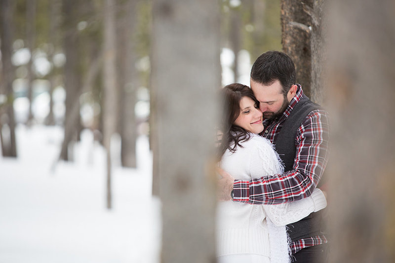 Dog Sledding elopement