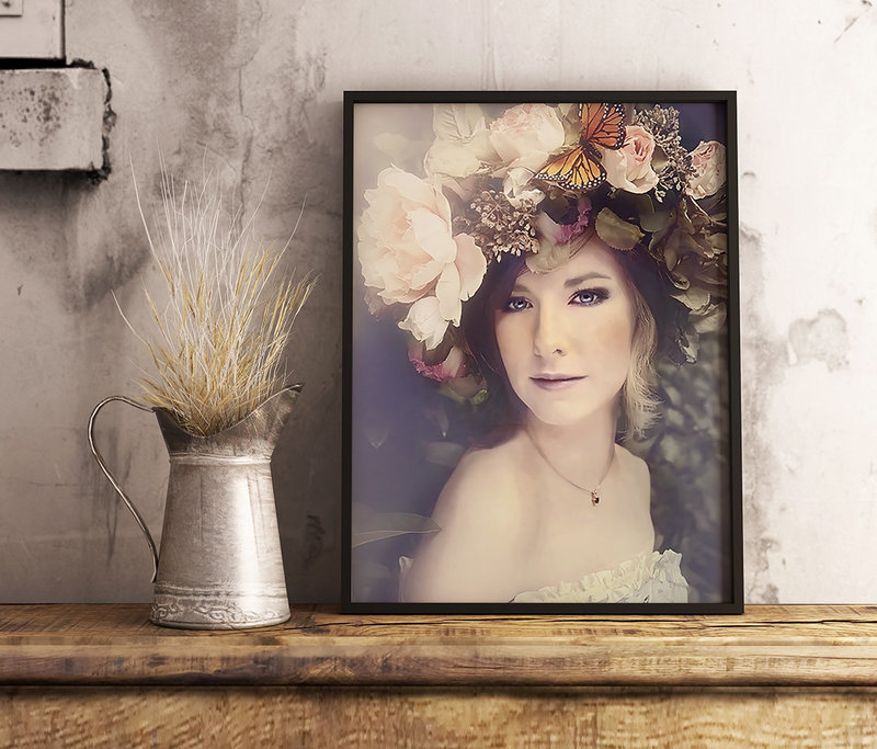 Framed portraits-product