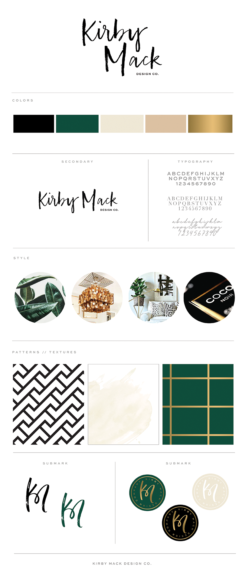 Kirby Mack Brand Board